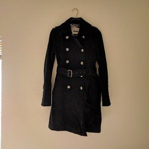 Guess Double Breasted Military Trench